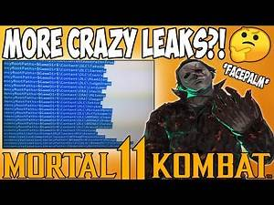 Mortal Kombat 11 - MORE CRAZY LEAKS?! Michael Myers, Havik, Judge Dredd & More!