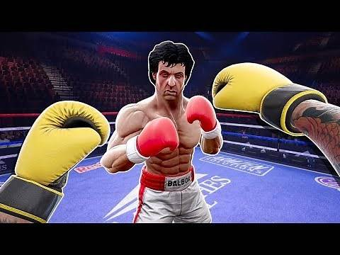 I Fought Rocky Balboa and This Happened - Creed Rise to Glory VR Rocky Legends DLC Update 👊