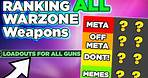 Ranking All Warzone Weapons with Meta & Off Meta Loadouts, Warzone tips by P4wnyhof