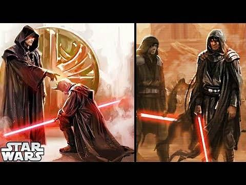 The First Sith EVER: Ajunta Pall - Star Wars Explained