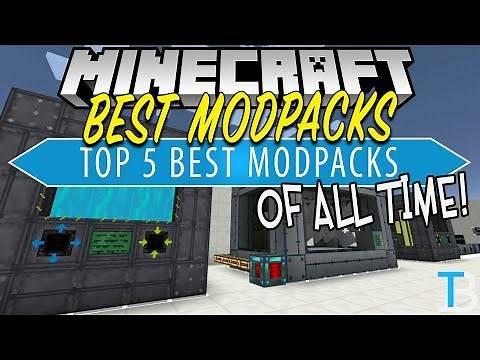 Top 5 Best Minecraft Modpacks!