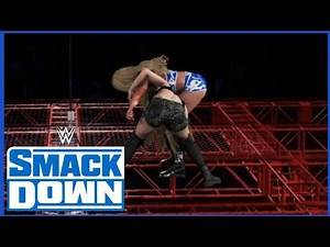 WWE 2K20 SMACKDOWN CHARLOTTE FLAIR VS PAIGE HELL IN A CELL SMACKDOWN WOMEN'S TITLE REMATCH