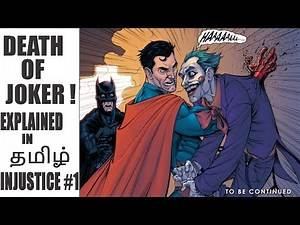 Death of JOKER | TAMIL | INJUSTICE #1