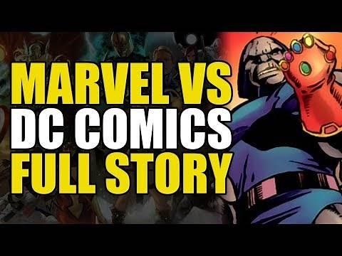 Marvel vs DC Full Story: Marvel vs DC to Avengers vs Justice League | Comics Explained