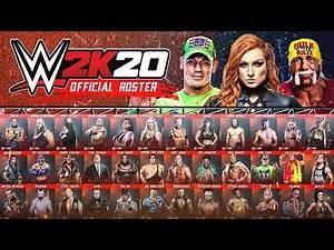 WWE 2K20 Official Roster All Confirmed Superstars So Far! (WWE 2K20 News)