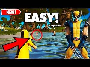Fortnite Easiest Way To Kill Wolverine & Complete Challenges [200 IQ]