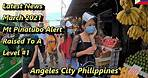 2021 MT. PINATUBO ALERT LEVEL RAISED TO A 1 - THE LATEST NEWS : ANGELES CITY, PHILIPPINES