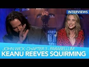 Keanu SQUIRMS When Complimented