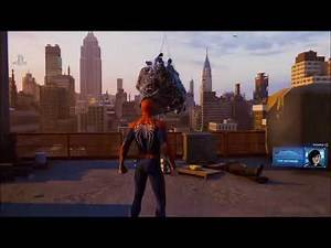 SPIDER-MAN PS4 1 HOUR GAMEPLAY BOSS BATTLES