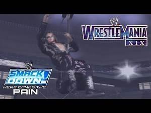 WRESTLEMANIA!! | WWE SmackDown! Here Comes The Pain SEASON MODE - FINALE [HCTP Gamepley Walkthrough]