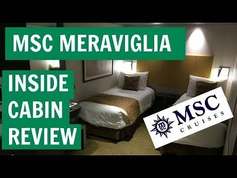 MSC Meraviglia - Inside cabin review