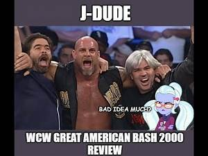 J-Dude's Reviews: WCW Great American Bash 2000