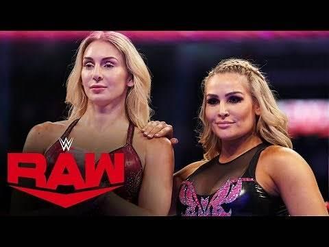 Charlotte Flair & Natalya vs. The IIconics: Raw, Oct. 28, 2019