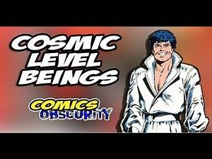 Cosmic Level Beings: Powerful Comic Book Characters