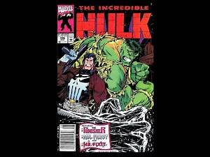 The incredible Hulk 396 feat Punisher
