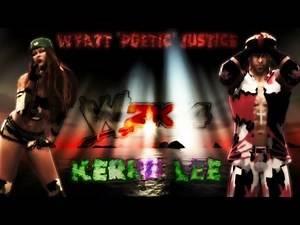 WWE 2K14::CAWS::Kerrii Lee & Wyatt 'Poetic' Justice! ᴴᴰ