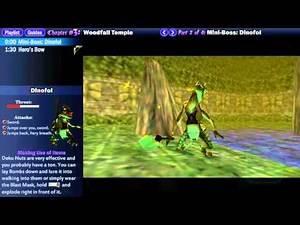 "Legend of Zelda Majora's Mask Walkthrough 03 (2/4) ""Woodfall Temple: Dinofol"""