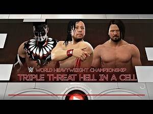 WWE 2K17 | AJ STYLES VS. SHINSUKE NAKAMURA VS. FINN BALOR | HELL IN A CELL