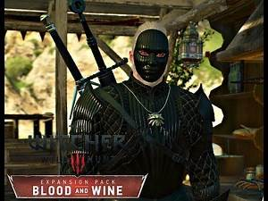 The Witcher 3: Blood And Wine - Tesham Mutna Armor Set (NG+)
