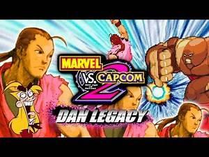 Three Dans...One DAN DEMON: DAN LEGACY (Pt. 9) - Marvel Vs. Capcom 2