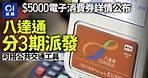 【5000元消費券】7.4起登記 陳茂波:最快8月1日收錢 01新聞