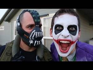 Best Bane vs Crazy Joker In Real Life | Spider-Man Avengers Videos Part 51