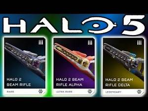 HALO 2 BEAM RIFLE RETURNS NEW TEMPLE VEHICLES!!! (Halo 5 Warzone Firefight)