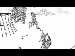 Dark Souls - Ornstein & Smough Fight (B&W Polygon Texture Mod)