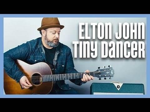 Elton John Tiny Dancer Guitar Tutorial