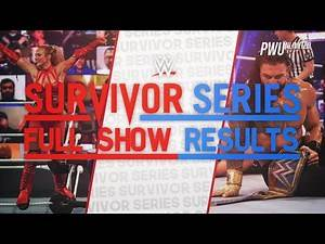 WWE Survivor Series Full Show Results