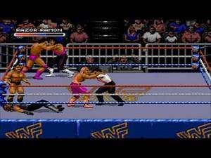 Sega Megadrive / Genesis Longplay - WWF Royal Rumble Game