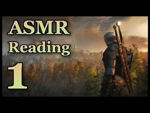 The Witcher 3 ASMR (Soft-spoken) | Reading Character Entries: Part 1