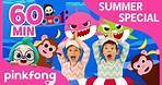 Baby Shark Dance and more   Summer Songs Special   Compilation   Pinkfong Songs for Children