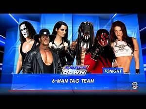 Paige, The Undertaker & Sting VS Finn Balor, Lita & Kane (WWE 2K16 PC Mods) Smackdown Live