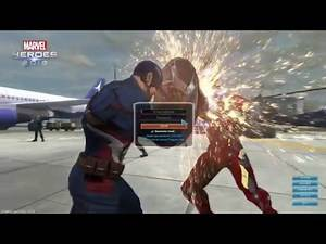 Marvel Heroes - Captain America: Civil War Log-On Screen and Events!