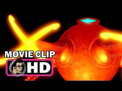 THE INCREDIBLES Movie Clip - Mr. Incredible vs. Omnidroid |FULL HD| Pixar Disney 2004