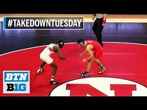 #TakeDownTuesday | Rewatch the Full 2020 Ohio State at Nebraska Meet | B1G Wrestling