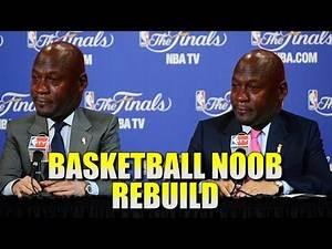 NBA 2K16 MY GM - Basketball Noob Rebuild - SMART BASKETBALL STUFF!!!