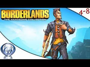 Getting The Borderlands 2 (PS4) Platinum Trophy [4-8Live]