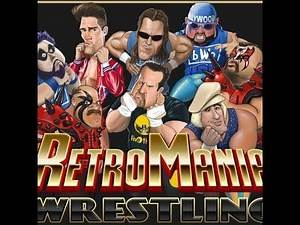(RetroMania Wrestling) a new wrestling game coming in 2020
