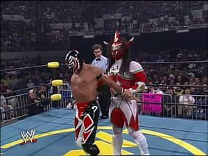 Rey Mysterio vs. Jushin Thunder Liger - Starrcade 1996