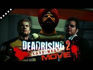 Dead Rising 2: Case West. The Movie. All Cut Scenes. Full Story.