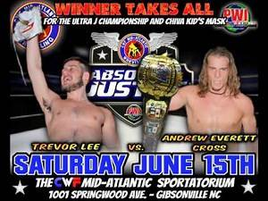 CWF Mid-Atlantic Wrestling: HUGE matches announced for Absolute Justice LIVE on IPPV 6/15/13
