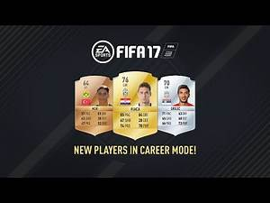 New Players in FIFA 17 Career Mode!
