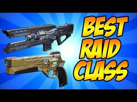 Destiny 2- BEST CLASS FOR LEVIATHAN RAID!