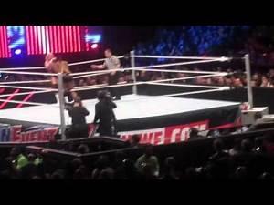 WWE Main Event Live! BIG E vs Dolph Ziggler Intercontinental Title Match