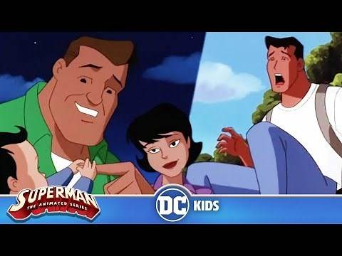 Superman: The Animated Series   Clark Kent Discovers He Has Superpowers   DC Kids