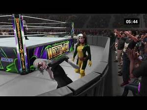 WWE 2K19 Black Cat vs. Rogue - Requested Submission/No Holds Barred Iron Woman Match