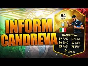 INFORM CANDREVA!! THE BEST SERIE A RW??? FIFA 16 ULTIMATE TEAM