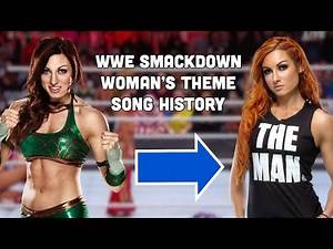 SmackDownLive Women's Entrance Theme Past to Present.